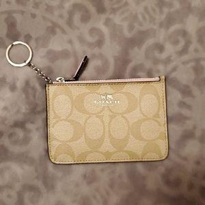 Coach Keychain id/credit card/coin purse.